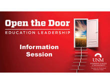 MBA-ED Information Sessions